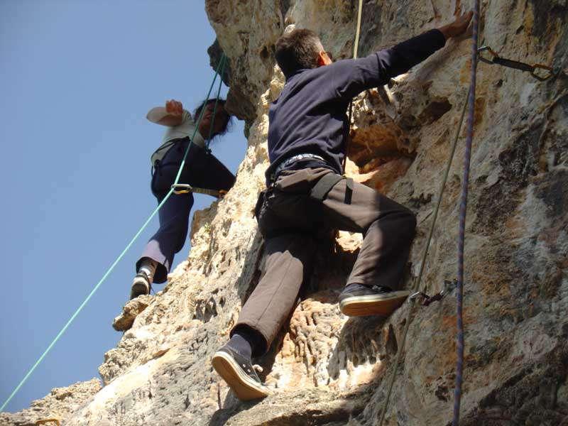 """Спортско-качувачки камп """"Трпејца 08"""" 11"""