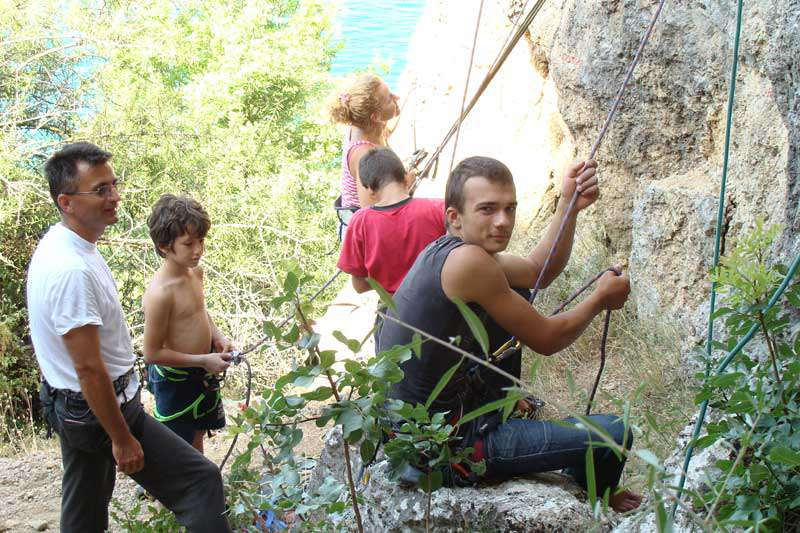 """Спортско-качувачки камп """"Трпејца 08"""" 26"""
