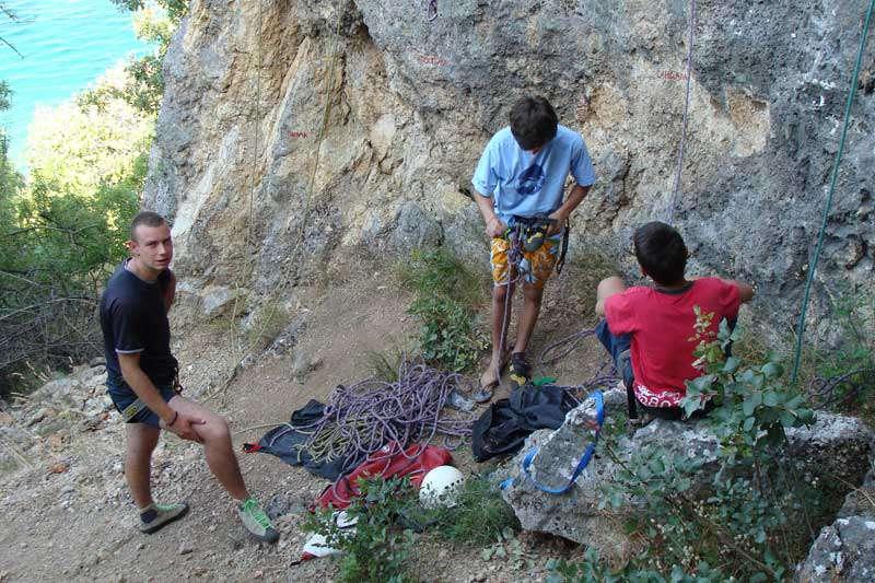 """Спортско-качувачки камп """"Трпејца 08"""" 28"""