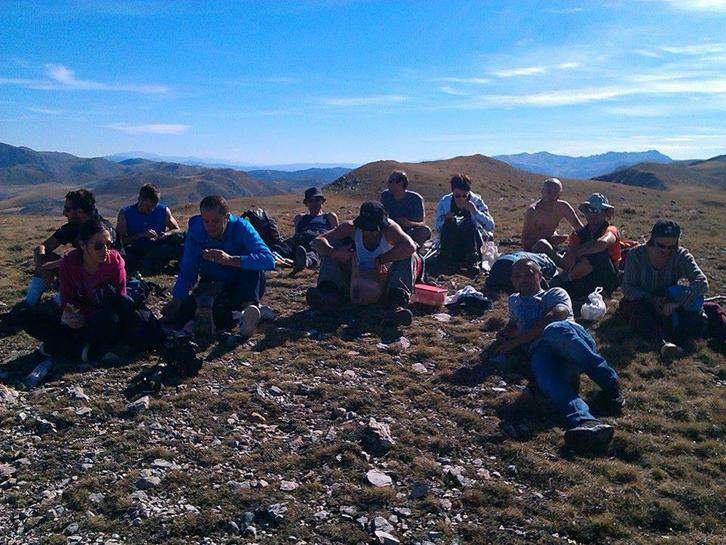 Искачување на Езерски Врв со екипата на Бекстејџ 4