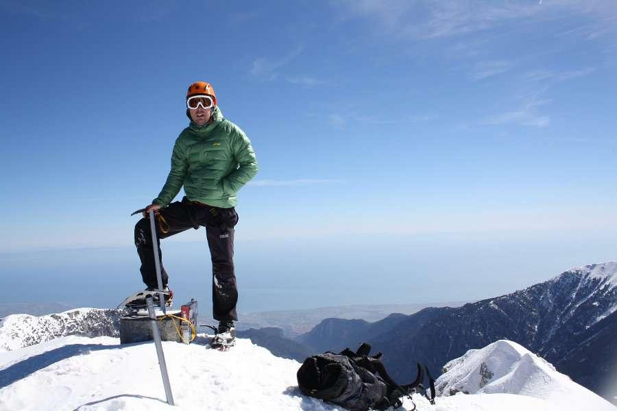 Зимско искачување на Митикас (Олимп) 22-23.03.2013 10