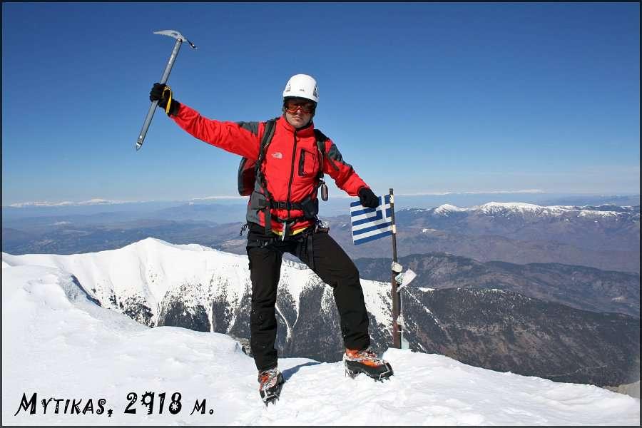 Зимско искачување на Митикас (Олимп) 22-23.03.2013 11