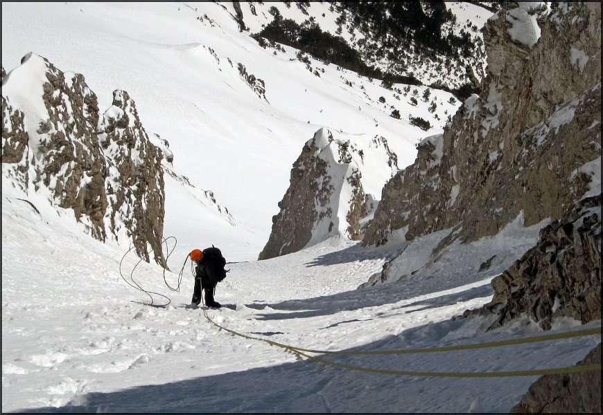 Зимско искачување на Митикас (Олимп) 22-23.03.2013 14