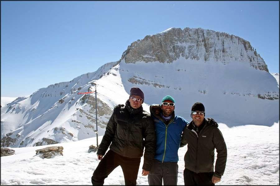 Зимско искачување на Митикас (Олимп) 22-23.03.2013 15