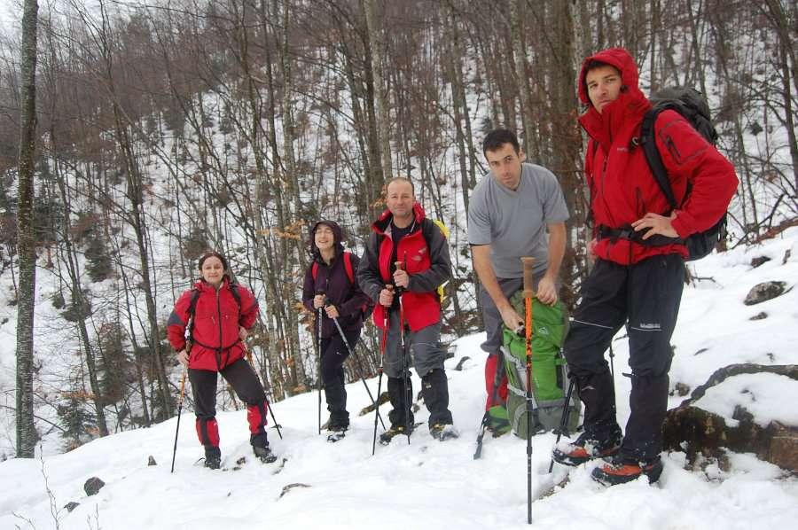 Искачување до долината под Миленков Камен 3