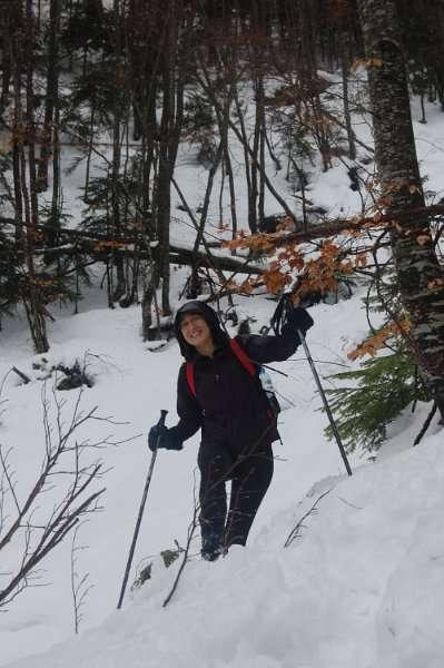 Искачување до долината под Миленков Камен 4