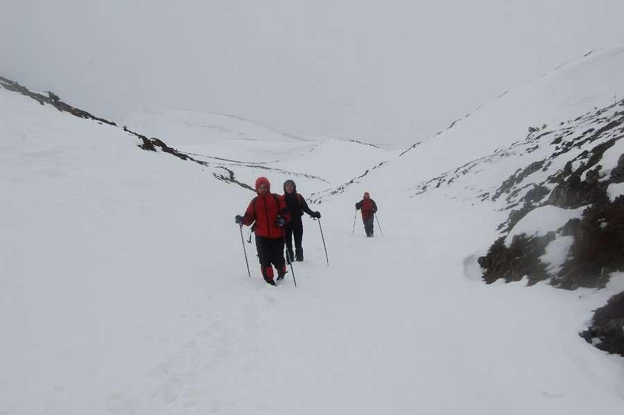 Искачување до долината под Миленков Камен 9