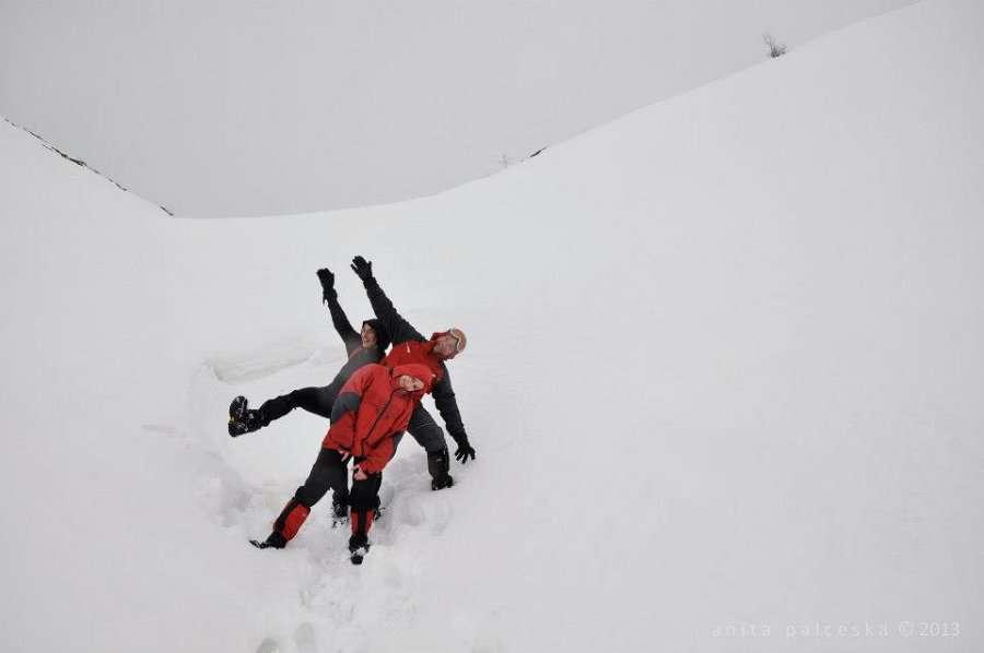 Искачување до долината под Миленков Камен 10