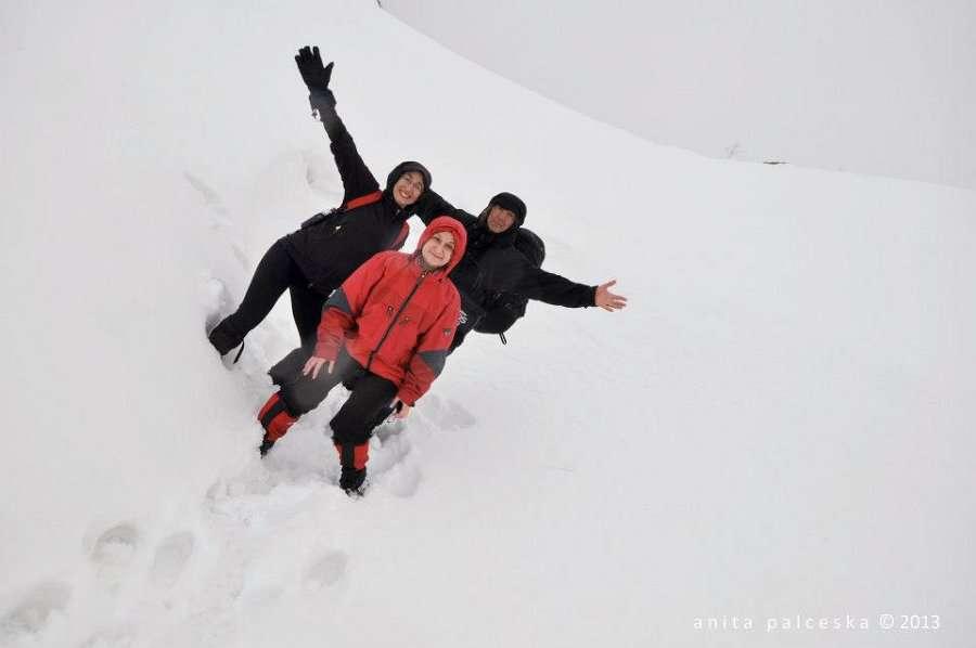 Искачување до долината под Миленков Камен 13