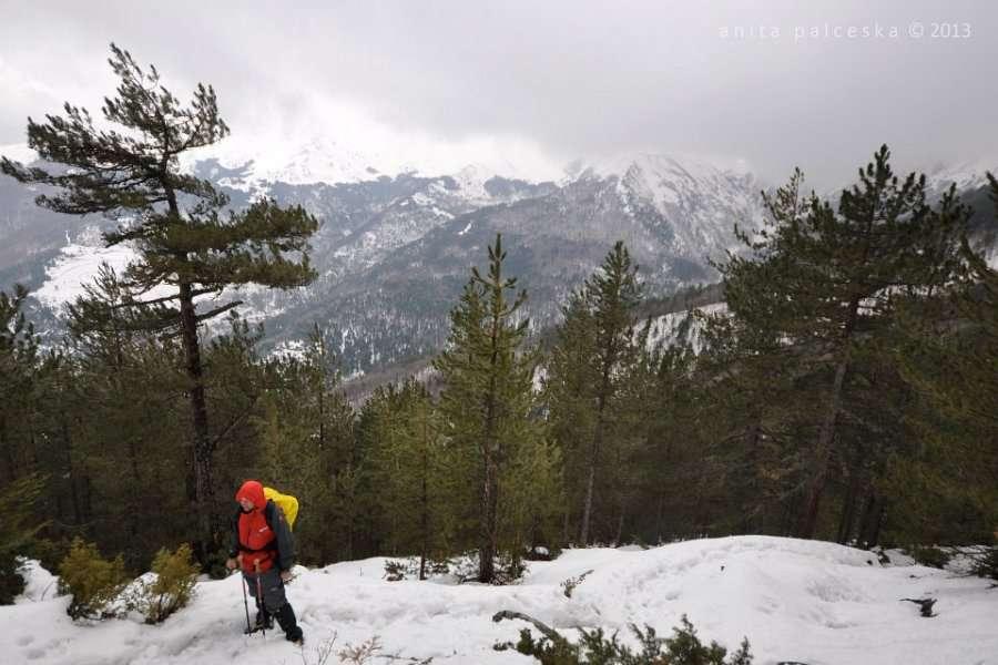 Искачување до долината под Миленков Камен 14