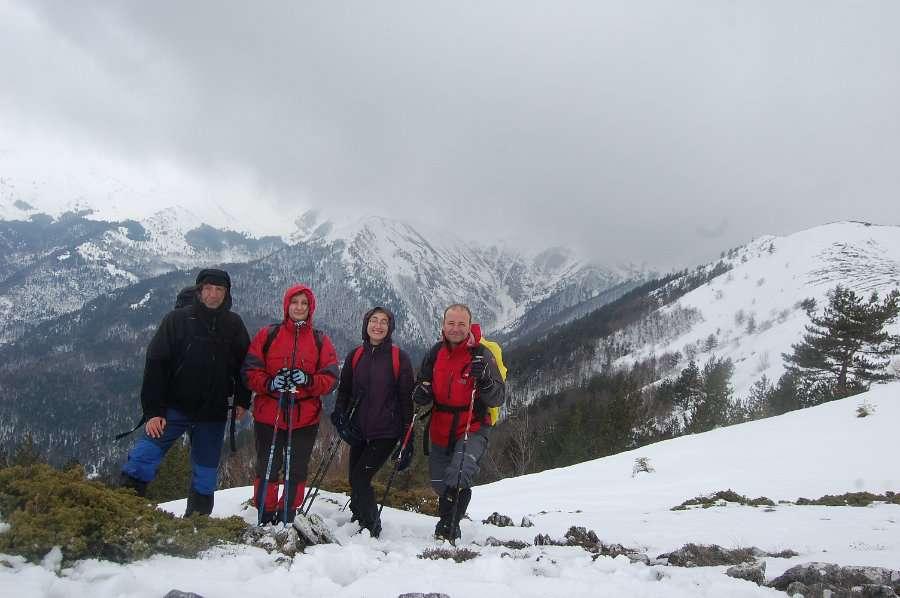 Искачување до долината под Миленков Камен 15