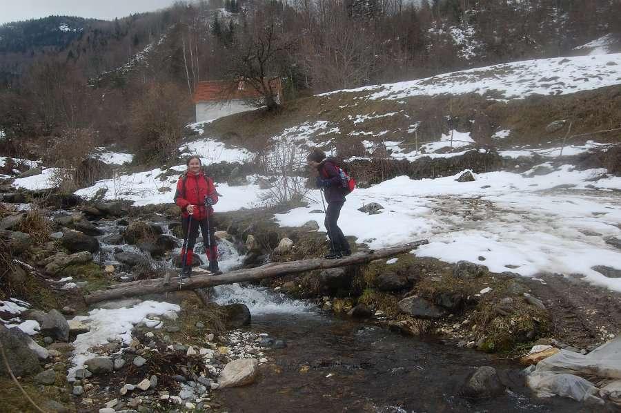 Искачување до долината под Миленков Камен 16