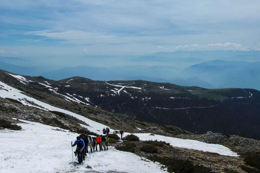 Пролетно искачување на Љуботен 2.499 мнв (03.05.2015) 6