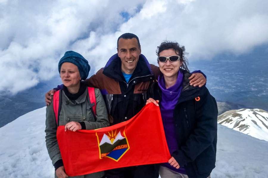 Пролетно искачување на Љуботен 2.499 мнв (03.05.2015) 14