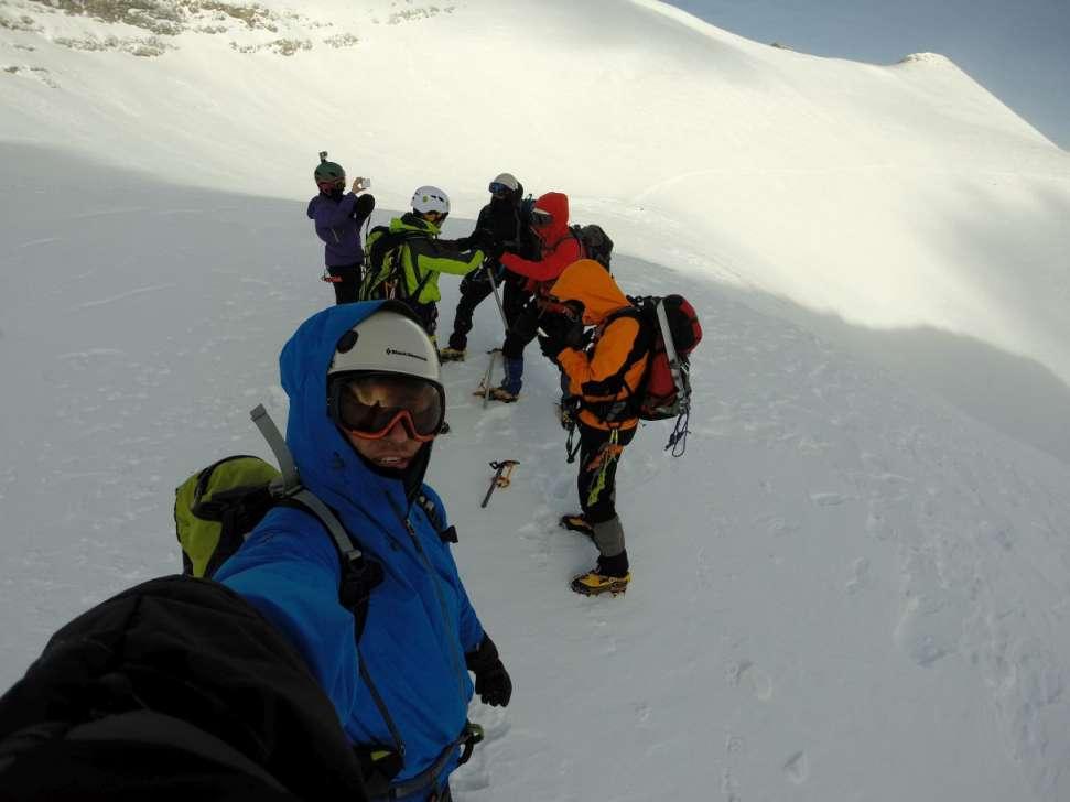 Зимско искачување на Олимп, 09-11.01.2015 5