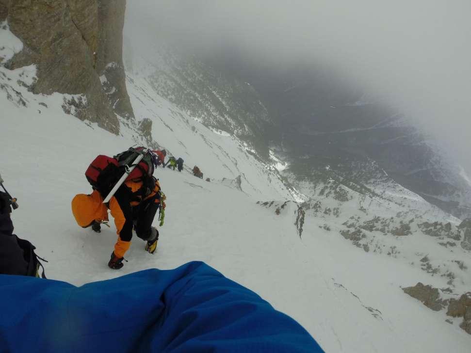 Зимско искачување на Олимп, 09-11.01.2015 6