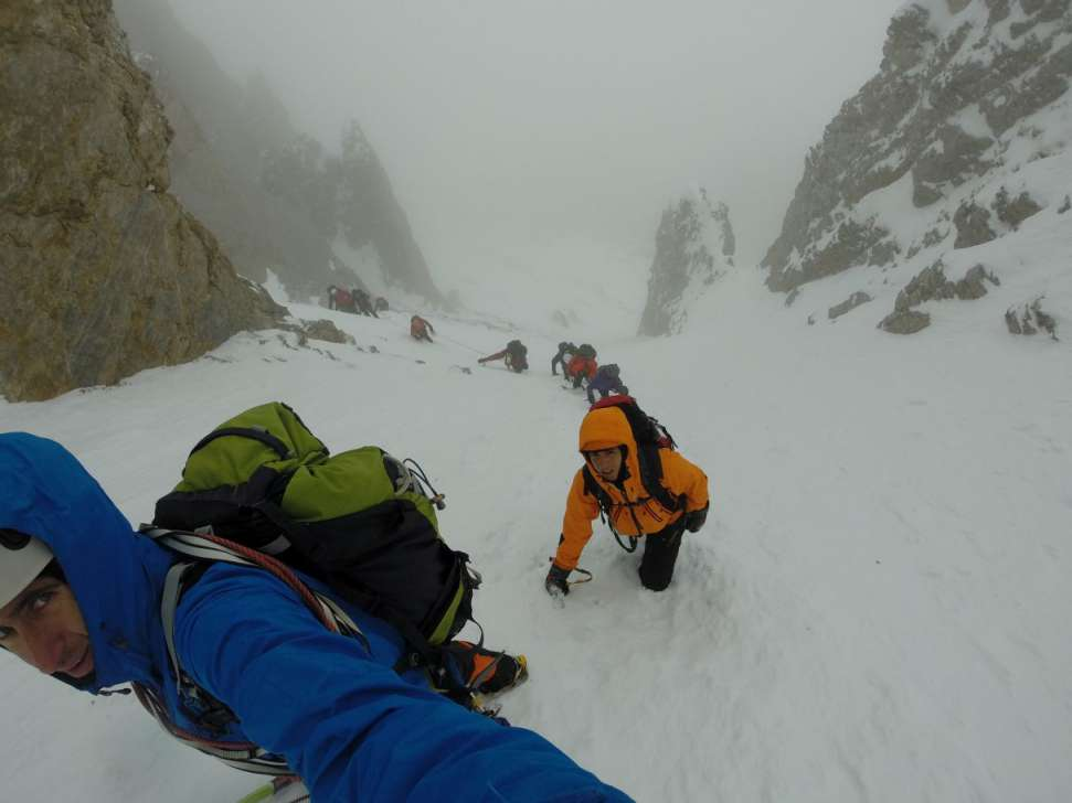 Зимско искачување на Олимп, 09-11.01.2015 8