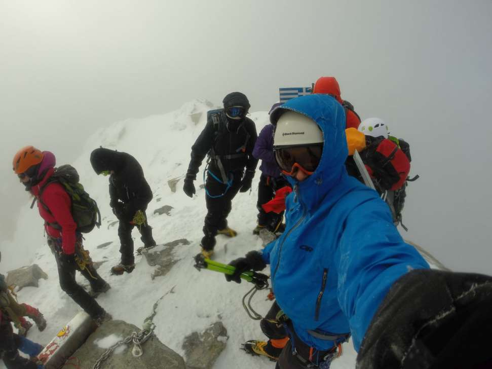 Зимско искачување на Олимп, 09-11.01.2015 10