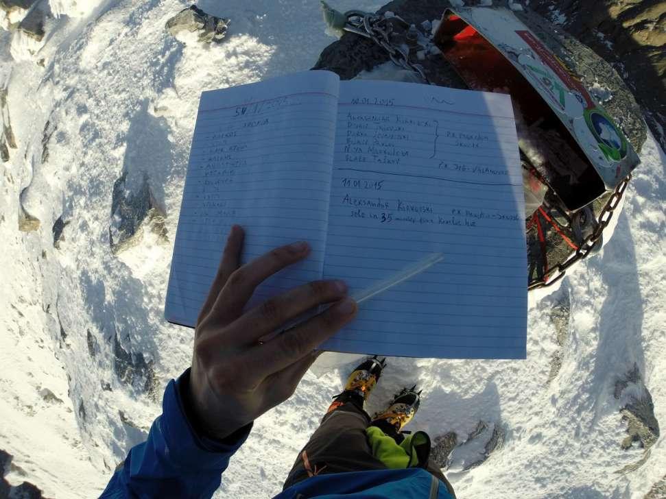 Зимско искачување на Олимп, 09-11.01.2015 13