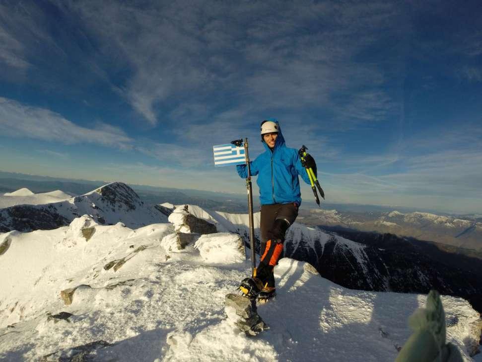 Зимско искачување на Олимп, 09-11.01.2015 14