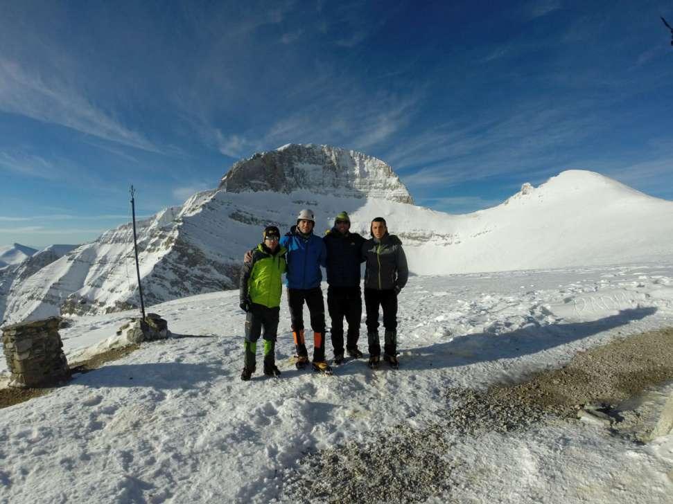Зимско искачување на Олимп, 09-11.01.2015 15