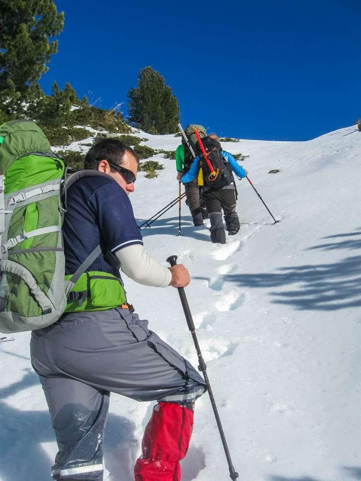 Искачување на Вихрен, Пирин планина, 16-18.01.2015 11