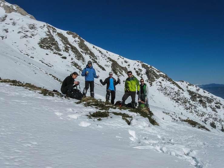 Искачување на Вихрен, Пирин планина, 16-18.01.2015 14