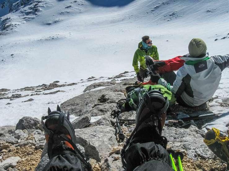 Искачување на Вихрен, Пирин планина, 16-18.01.2015 17