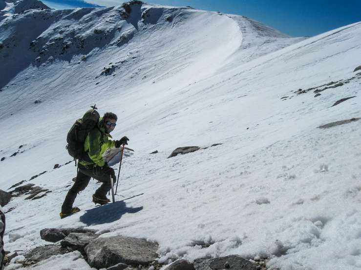 Искачување на Вихрен, Пирин планина, 16-18.01.2015 18
