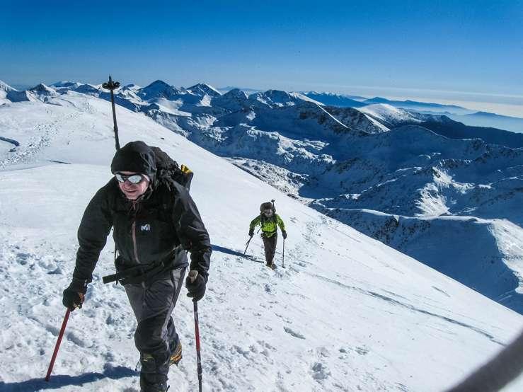 Искачување на Вихрен, Пирин планина, 16-18.01.2015 22