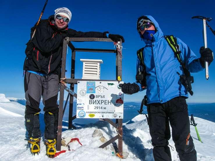 Искачување на Вихрен, Пирин планина, 16-18.01.2015 25